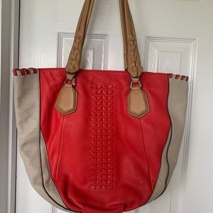 Like New:  Dr Yany leather Tote